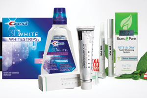 Drugstore teeth whitening kits