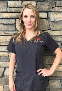 Registered Dental Hygienist, Jasmine Morgan, at Cobblestone Park Family Dentistry in Oklahoma City
